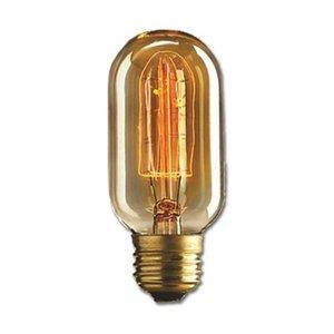 Lâmpada Retrô Filamento De Carbono T45 110v 40w E27 Kian