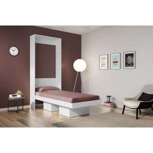 Cama Multifuncional Articulável Solteiro Manhattan Branco - Art in móveis