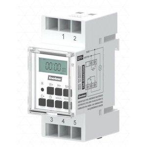 Timer Temporizador Digital P/ Trilho Din 110v