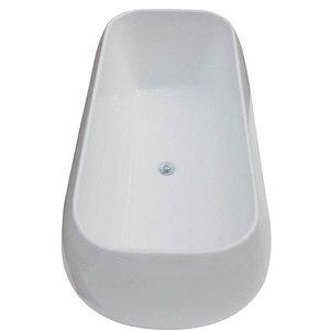 Banheira de Imersão Astra Amsterdam 1,81m x 85cm x 62cm - sem aquecedor Branco