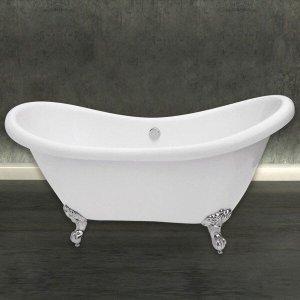 Banheira de Imersão Astra Londres 1,74m x 72cm x 78cm - sem aquecedor Branco