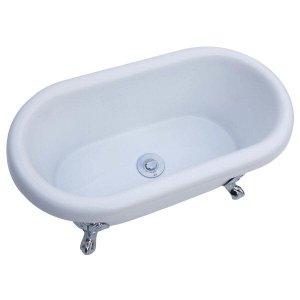 Banheira Infantil de Imersão Windsor 76cm x 41cm x 34cm - sem aquecedor Branco