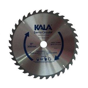 Lâmina de serra circular para madeira 60 dentes 300mm 12 pol Kala