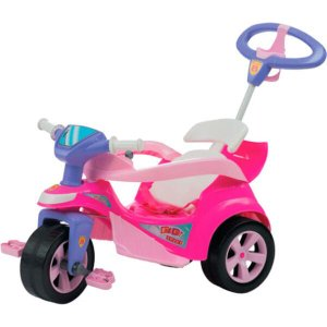 TRICICLO PEDAL BABY TRIKE EVOLUTION ROSA - BIEMME