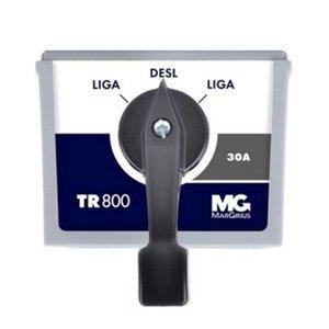 Chave De Transferência Manual -Série Tr-800 Al Margirius 40 A Reversão De Linha