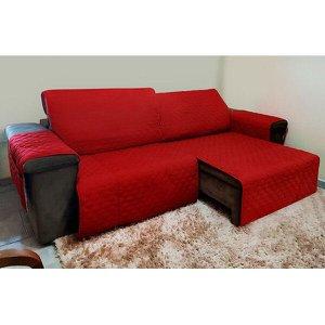Protetor De Sofá Retrátil E Reclinável Com Assento Até 1,80m