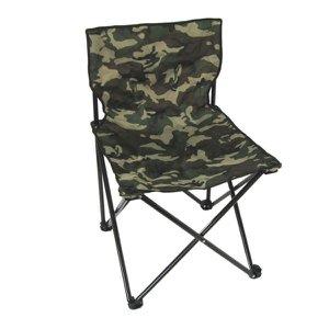 Cadeira Dobrável Portátil Pesca Camping Camuflada Jws 70cm