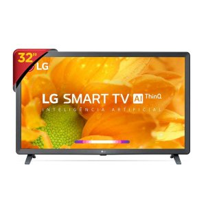 "Tv 32"" Smart LG 32LM625B - Wi-Fi, WebOS 4.5, Inteligência Artificial, HDMI e USB Unica"