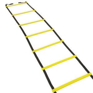 Escada De Agilidade 4m Funcional 8 Degraus De Pvc Rigidos