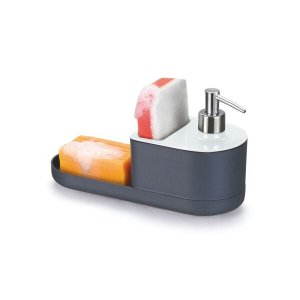 Dispenser Para Detergente, Bucha E Sabão By Arthi - Branco