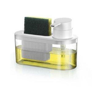 Porta Detergente Líquido E Bucha Off - Arthi - Branco