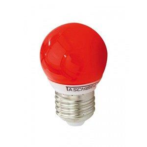 Lâmpada LED Bolinha Taschibra 1W 127v Luz Vermelha