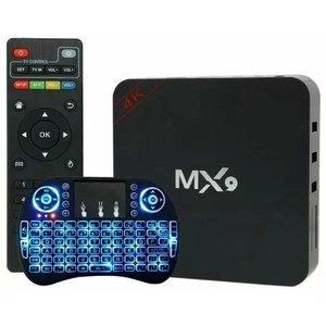 CONVERSOR SMART TV BOX MX9 4K ANDROID 7.1.2