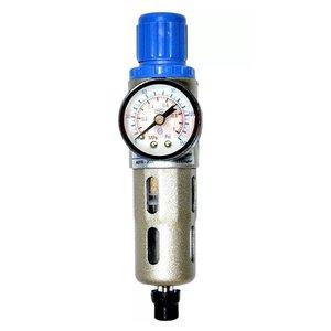 Filtro De Ar De 1/4 Com Regulador Afr-2000 - Fluir