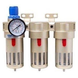 Filtro de Ar Fluir 1/2 Regulador Coalescente Carvão Ativado Odontológico