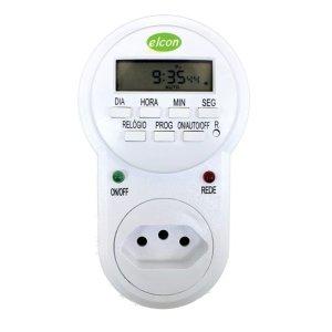 Timer Temporizador Digital Elcon Te-30- Hrs-min-segundos 10a