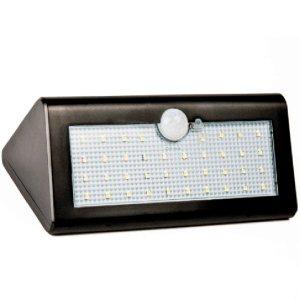 Lampada De Parede Com 30 Leds Energia Solar Luminária T30