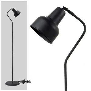 Luminária Coluna Abajur Piso Chão Spot City - PRETO - 3110-3