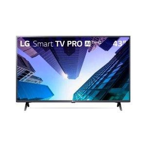 """Smart TV LED LG 43"""" ThinqAI Full HD - 43LM631C0SB"""