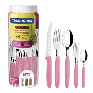 Faqueiro Tramontina Ipanema 23398/488 30 Peças - Rosa