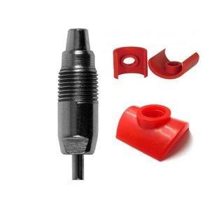 Bebedouro Automático Niple Para Coelho Aço Inox Pvc 1/2 kit 5 peças