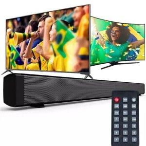CAIXA DE SOM SOUNDBAR BLUETOOTH 60W HOME THEATER CINEMA CAIXA DE SOM CELULAR TV COM CONTROLE REMOTO