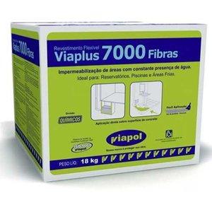 Viaplus 7000 Fibras Caixa 18kg + Broxa Brinde!!
