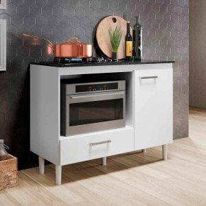 Balcão Moderno para Cooktop Fit | Nicioli