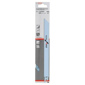 Lâmina de Serra Sabre Bosch, 225mm, 2 Peças - 26086560