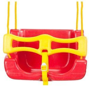 Balanço Infantil Cadeira Vermelha