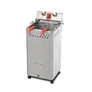 Fritadeira Elétrica profissional 18 litros água/óleo Gabinete 85cm Marchesoni 220V - 220v
