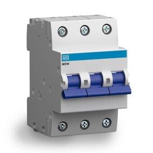 Mini Disjuntor Tripolar 100A Curva C Din - WEG [10075747]