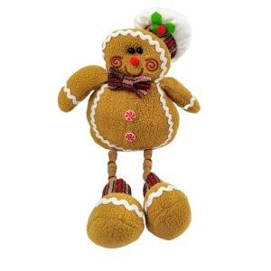 Cookie Menino Boneco Decoração Natal Luxo 45x23cm Enfeite