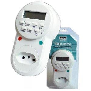 Timer Temporizador Digital Liga/Desliga 24 Horas Bivolt 2200w 10A
