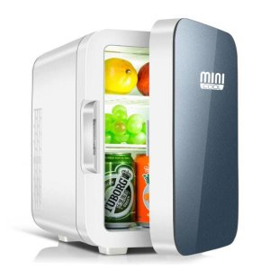 Mini geladeira 6 litros cinza Mini Cool