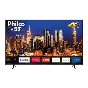 "Smart TV Philco LED 4K 55"" PTV55F62SN Bivolt"