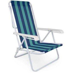 Cadeira Reclinável Mor, Aço, Cores Sortidas – 2005