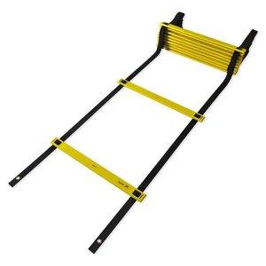 Escada de Agilidade de Plástico - Preto/Amarelo - Muvin