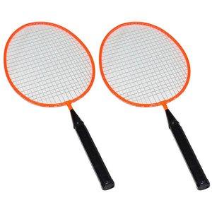 Kit Badminton Infantil 2 Raquetes 1 Peteca Winmax - Laranja - WMY02021Z2 - Ahead Sports