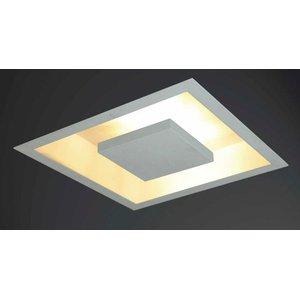 Luminária de embutir Eclipse branco 60X60 cm para lâmpadas G9