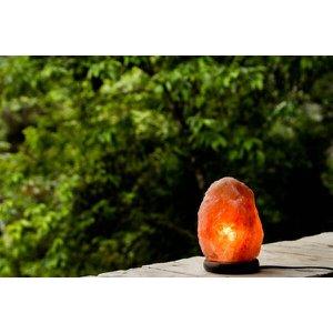 Luminária de Sal Rosa do Himalaia - 1 a 2kg - 110v