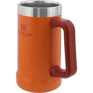 Caneca Térmica de Cerveja Stanley 709 ml até 5 Horas Gelado Laranja