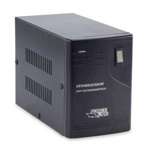 Estabilizador Eletrodoméstico 3000VA Preto Forceline