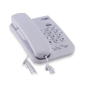 Telefone de Mesa Branco Force Line