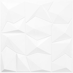 Kit Revestimento Placa 3D Modelo Everest caixa 12 Unid - 3 M²