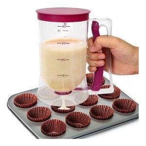 Copo Medidor De Massas Panquecas Bolo Cupcakes 900 Ml