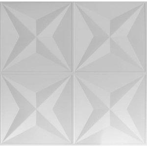 Kit Revestimento Placa 3D Modelo Sirius caixa 12 Unid - 3 M²