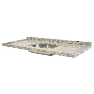 Pia De Granito Para Cozinha Levorato Arabesco – 120x55cm – Granito Arabesco