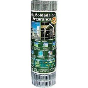 Tela para Alambrado Galvanizado Morlan 2,30 mm, 1,80 x 25 metros