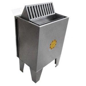 Sauna Seca Elétrica 12kw Inox Bifásico de Piso com Comando Digital Impercap